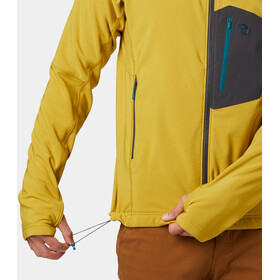 Mountain Hardwear Keele Hoodie Jacket Herren dark citron